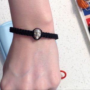 skull rope bracelet